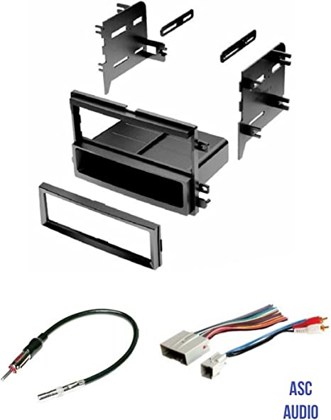 Ford Lincoln Mercury Pioneer USB Sirius Xm Stereo Dash Kit Amp Harness for 04