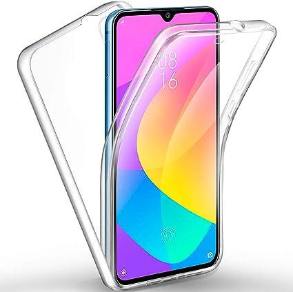 AROYI Funda Xiaomi Mi 9 Lite, Ultra Slim Doble Cara Carcasa Protector Transparente TPU Silicona + PC Dura Resistente Anti-Arañazos Protectora Case Cover para Xiaomi Mi 9 Lite: Amazon.es: Electrónica