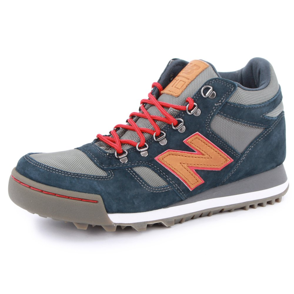 New Balance 710 H710CNV Mens Laced Suede   Mesh Hiking Boots Navy Red - 10   Amazon.co.uk  Shoes   Bags d4b967eec74a