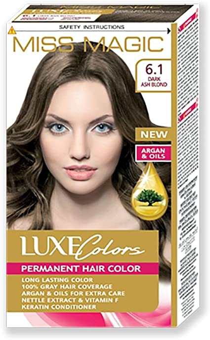 Tinta para pelo Miss Magic Tinte Rubio Ceniza mediano Hair ...