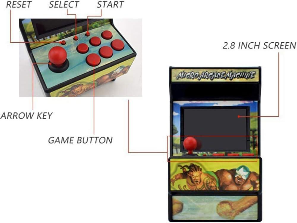 NWSAC 16-bit portátil de Mano Consola de Juegos Retro Juego de la ...