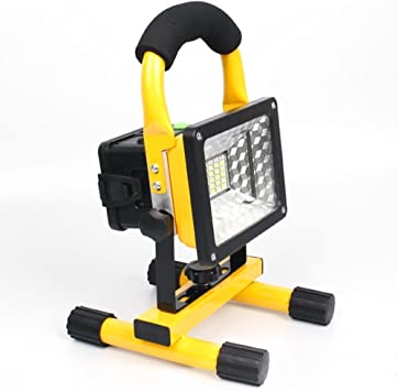 30W Portable LED Work Lights Rechargeable COB Flood Light Outdoor Camping Lamp