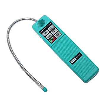 Signstek portátil AC refrigerante halógena de detector de fugas de ...