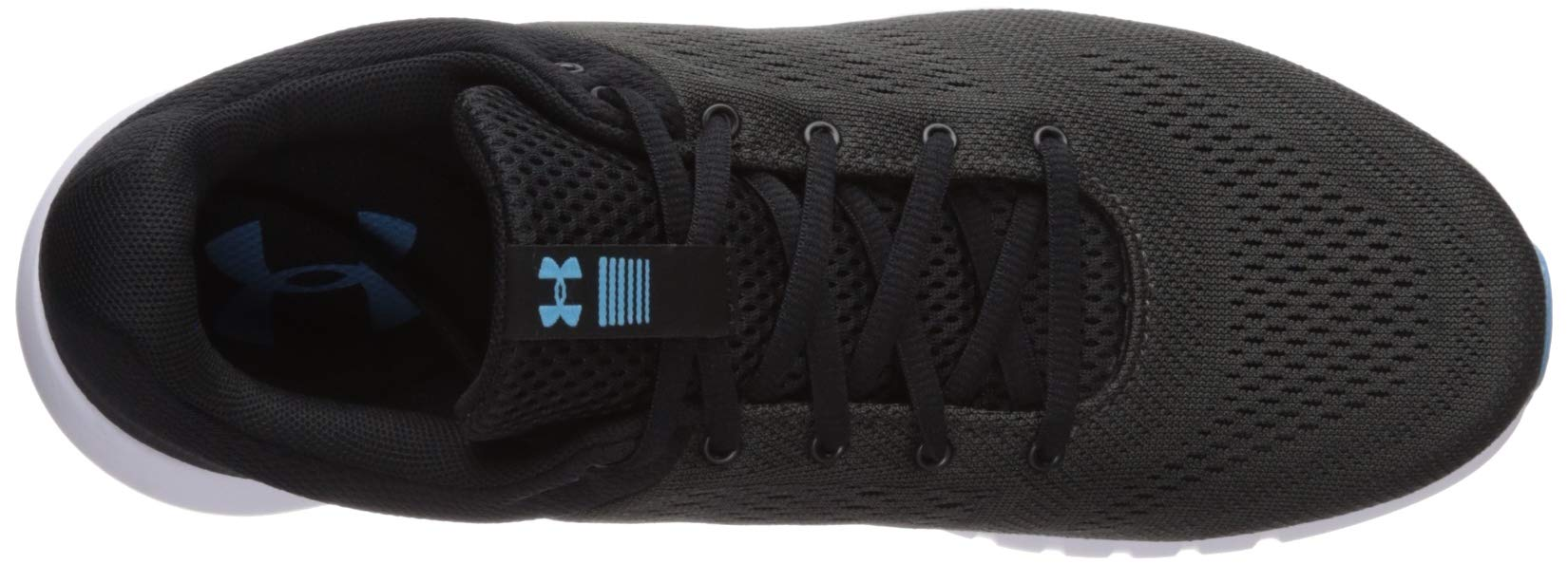 Under Armour Men's Micro G Pursuit Running Shoe, Academy Blue (402)/Black, 9.5 by Under Armour (Image #7)