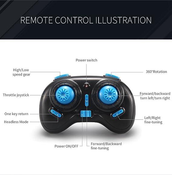 RCtown JJRC H36 Mini Drone 2.4G 6-Axis Gyro Headless Mode LED ...