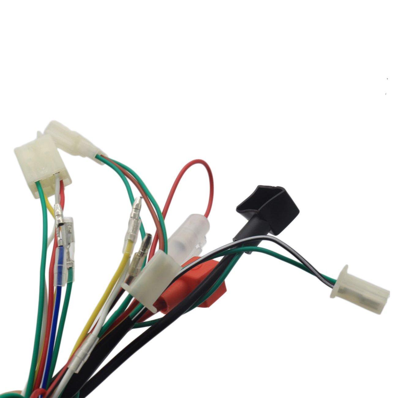 Jingke Complete Electrics Stator Coil Cdi Wiring Harness For 4 Zongshen Stroke Atv Klx 50cc 70cc 110cc