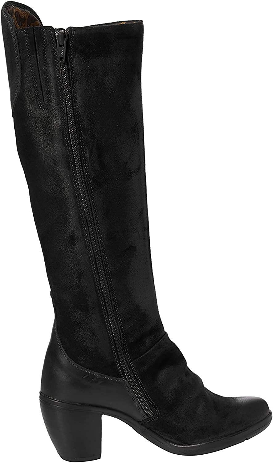 FLY London Women's Hean127fly Fashion Boot, Black