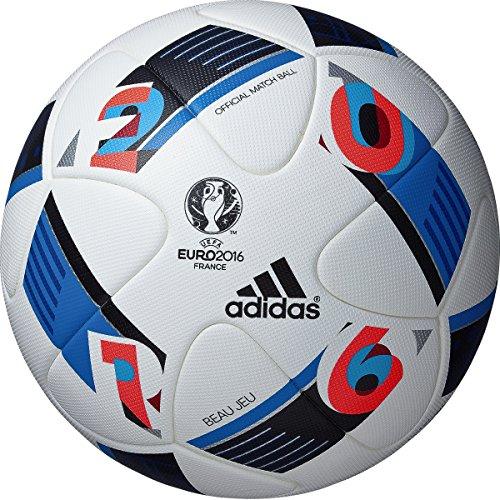 adidas(アディダス)ボー ジュ 試合球 サッカーボール 5号球 ホワイト ユーロ2016 国際公認球 AF5150 ホワイト B017RAOQ8M5号