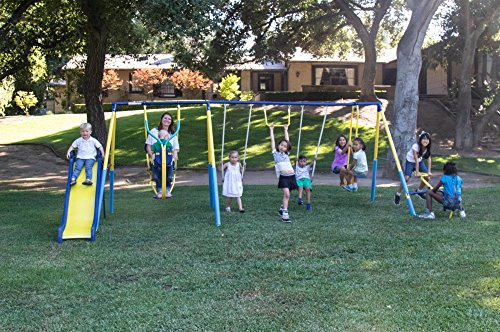 Super 10 Swing Set For Children (Hatteras Rocker)