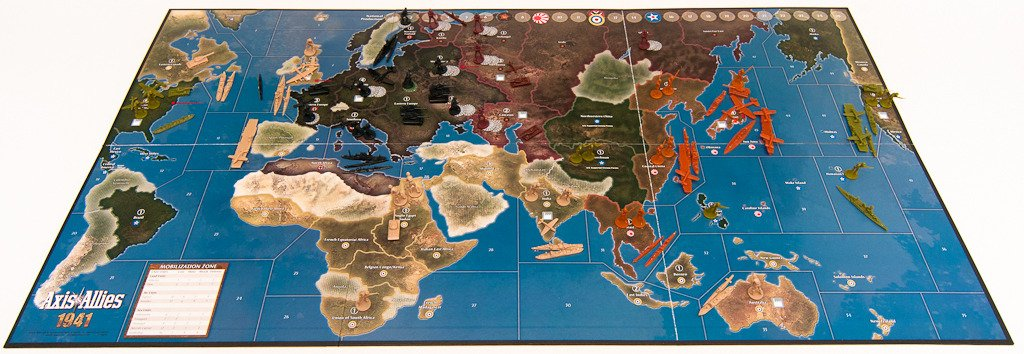 axis and allies  : Avalon Hill Axis and Allies 1941 Board Game: Toys & Games