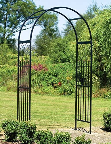 Amazon Com Gardman Garden Arch Trellis 6 5 Ft Outdoor Metal