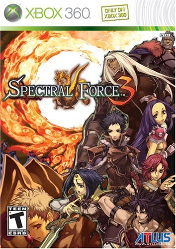 Atlus Software Spectral Force 3 - Xbox 360