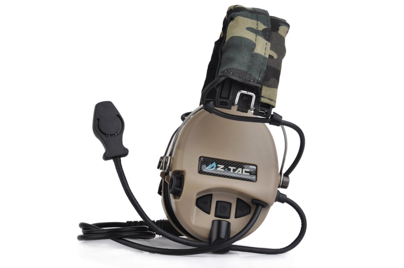 Amazon.com : Element Airsoft Z111 Z-TAC Z-tactical Military Aviation Tactical Headset Sordin Anti-Noise Tactical Hunting Headphones Military Accesorios ...