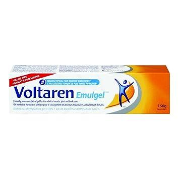 Back Pain Killer Relieve Cream Voltaren 1.16% 150g/relief gel ...