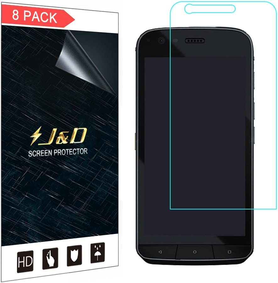 J&D Compatible para 8-Pack CAT S61 Protector de Pantalla, [NO ...