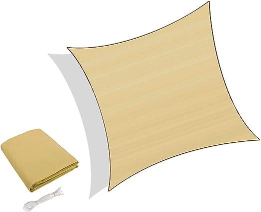 Colore Terra Sunnylaxx Tenda a Vela Rettangolare 2.5 x 3 Metri Vela Ombreggiante Resistente e Traspirante per Giardino Balcone /& Terrazza