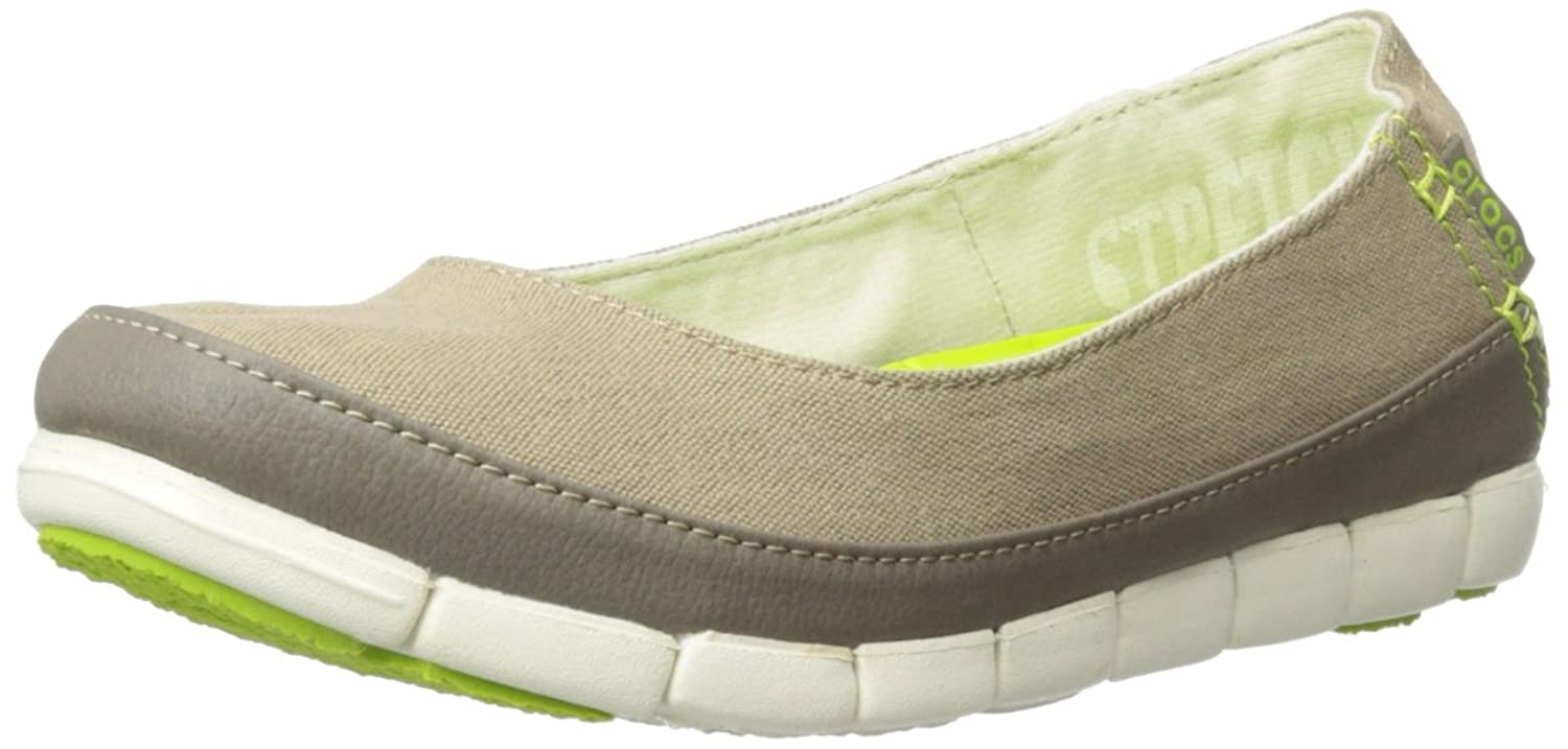 crocs Women's Stretch Sole Flat