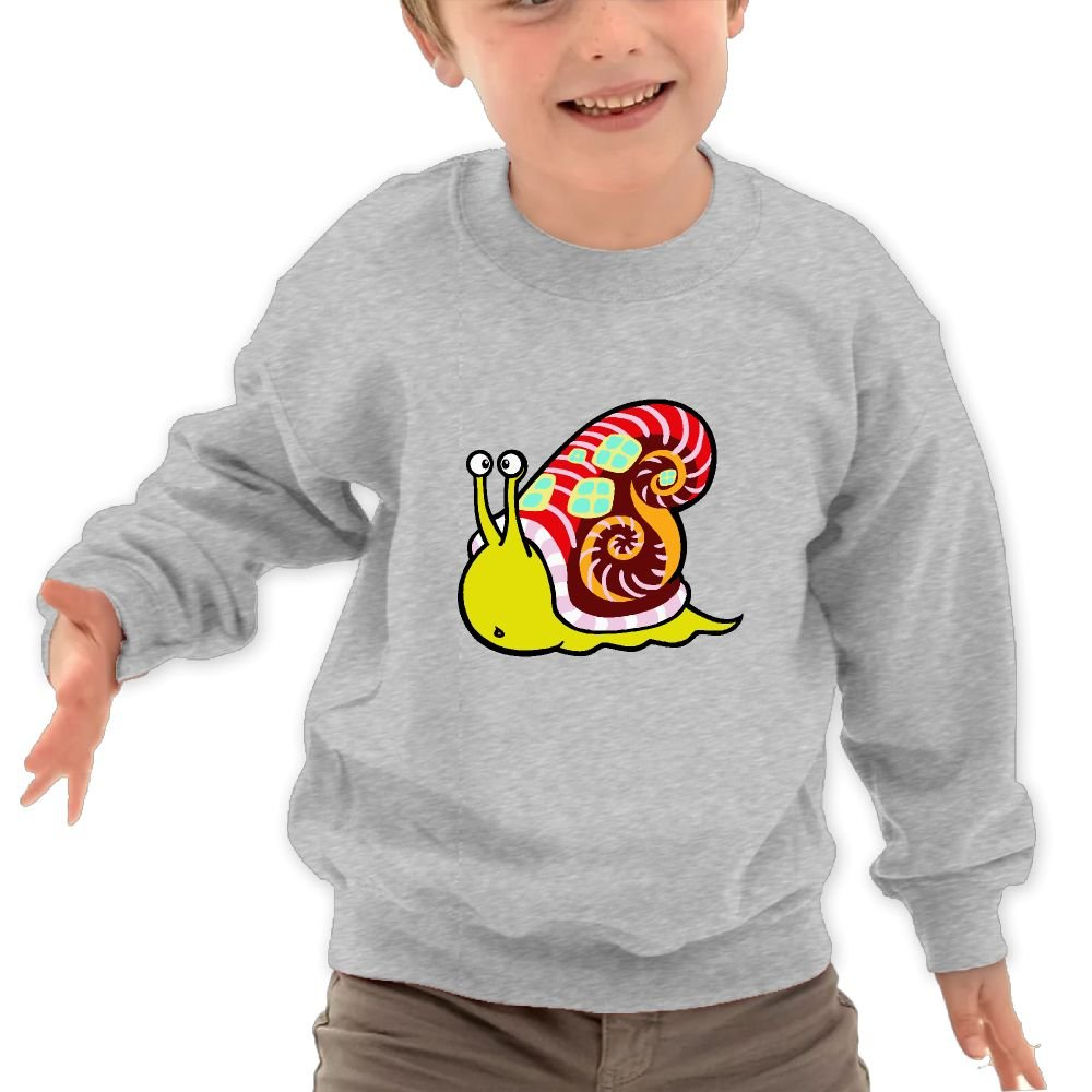 Babyruning Snail Child Cotton Pullover Cool Long Sportwear