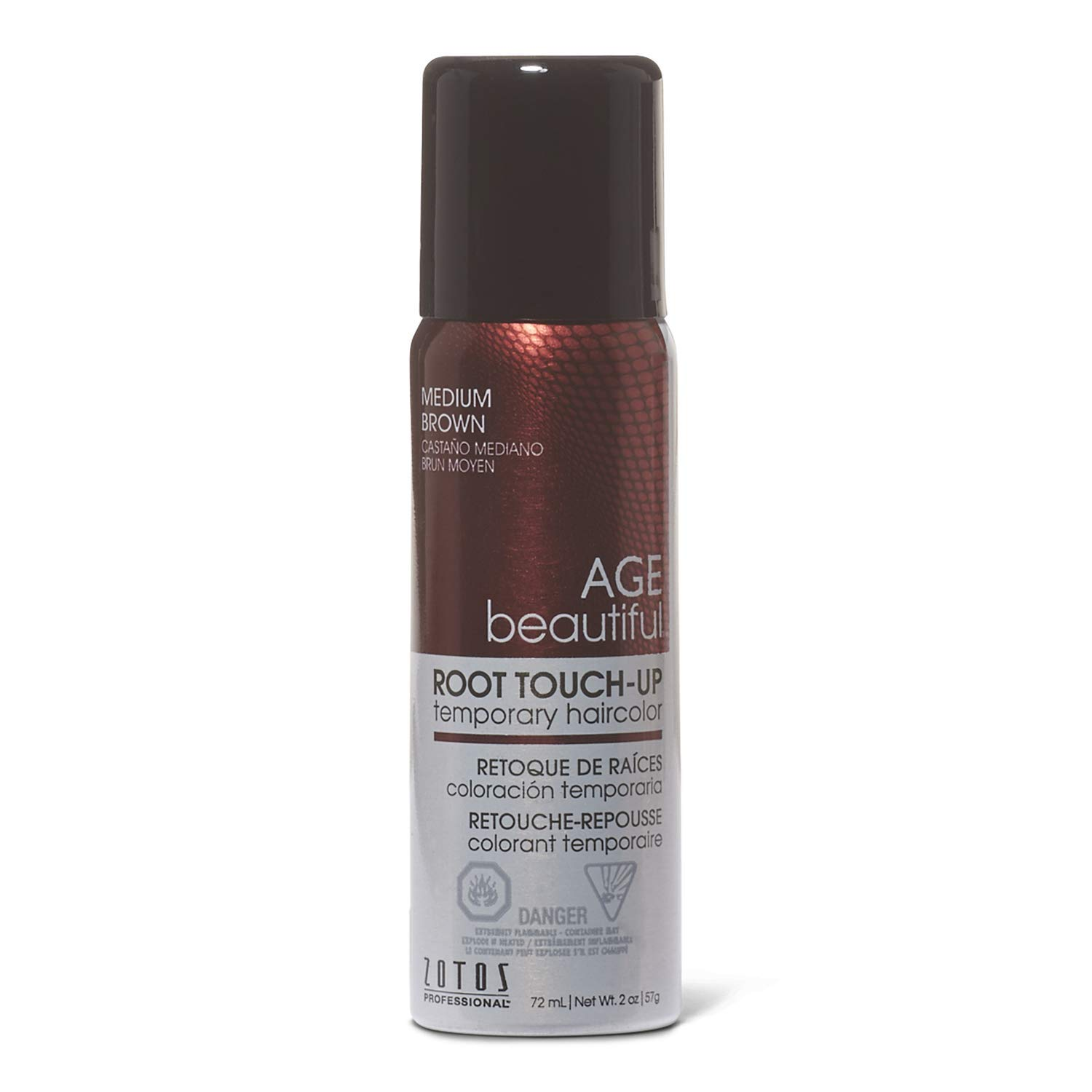 AGEbeautiful Root touch-up, medium brown, Medium Brown, 2 Ounce by AGEbeautiful