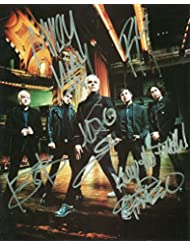 My Chemical Romance Signed Autographed 8 X 10 Reprint Photo - Mint Condition