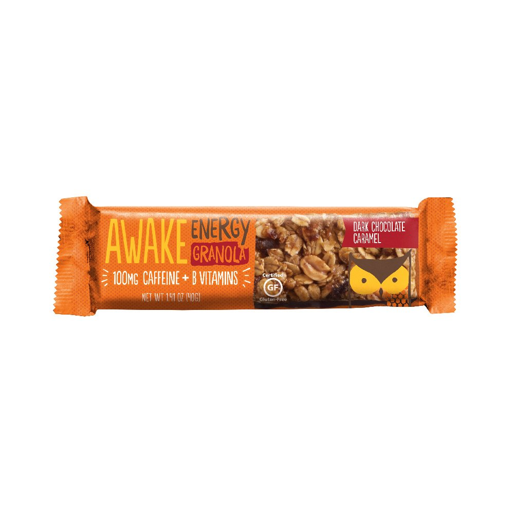 Awake Caffeinated Chocolate Bar Caramel
