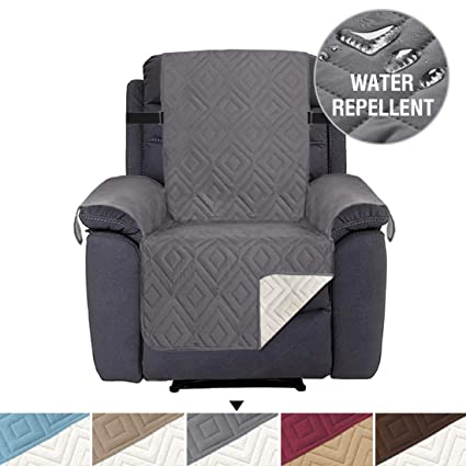 Fine Recliner Chair Cover Pet Friendly Water Repellant Couch Cover Seat Width Up To 22 Sofa Protector With 2 Inch Elastic Straps Prevent Spills Wear Caraccident5 Cool Chair Designs And Ideas Caraccident5Info