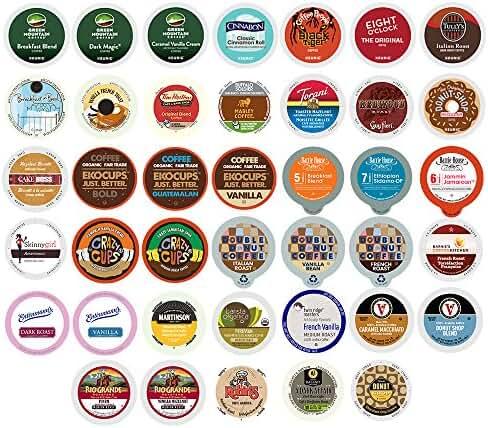 40-count Coffee & Flavored Coffee Single Serve Cups For Keurig K Cup Brewers Variety Pack Sampler