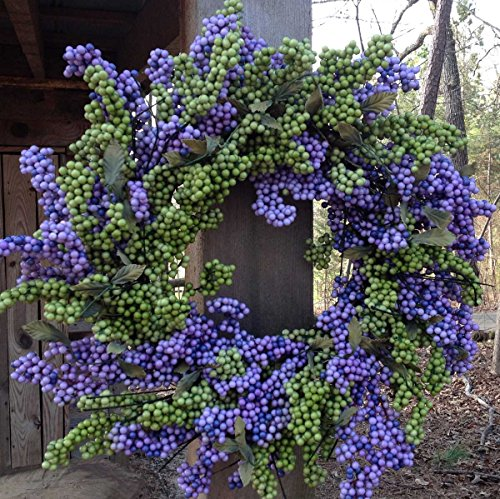 Flora Decor Bountiful Berry Wreath 24
