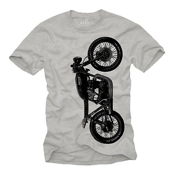 Vintage Biker T Shirt Herren Cb 550 Cafe Racer Umbau Geschenke