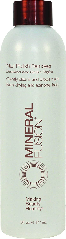 Mineral Fusion Nail Polish Remover, 6 Ounce (Packaging May Vary) : Non Acetone Nail Polish Remover : Beauty