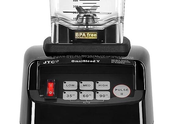 OmniBlend Omni-Q Licuadora comercial con escudo de sonido completo ...