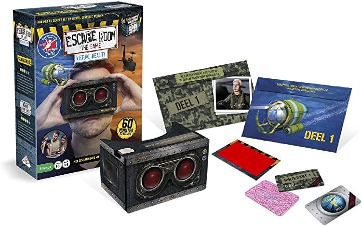 Unbekannt Identity Games 07727 Escape Room The Game: Realidad ...