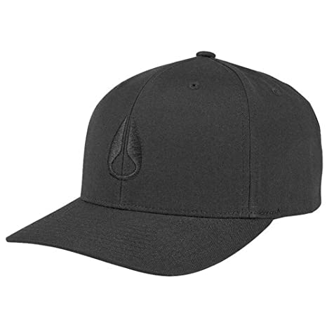 NIXON Wings Snapback Hat All Black One Size: Amazon.es: Deportes y ...