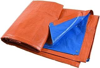Z-P Tente Visière Imperméable À l'eau De Bâche Imperméable À l'eau pour Couvrir Le Tissu De Couverture De Pluie De Couverture De Camion De Voiture - Orange Bleu