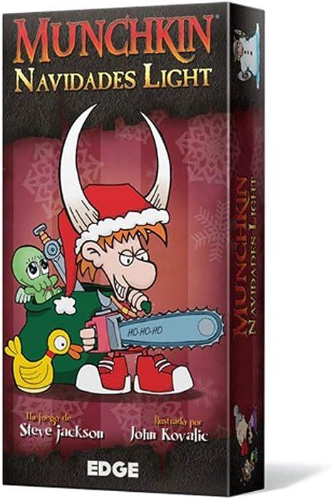 Edge Entertainment Munchkin Navidades Light - Español: Amazon.es: Juguetes y juegos