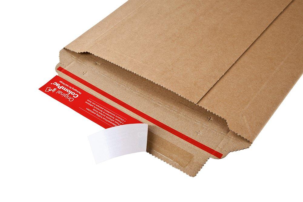 colore: Marrone in cartone ondulato ColomPac CP010.03 Busta da spedizioni 215 x 300 x 50 mm 100 Pezzi