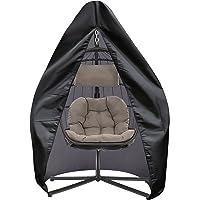 SIRUITON Patio wiszący pokrowiec na krzesło 420D tkanina oxford wodoodporna weranda patio kokon jajko pokrowiec na…
