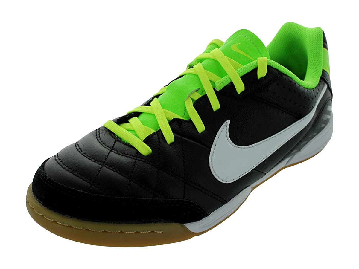 NIKE JR TIEMPO NATURAL IV LTR IC, schwarz weiss electric green,6Y