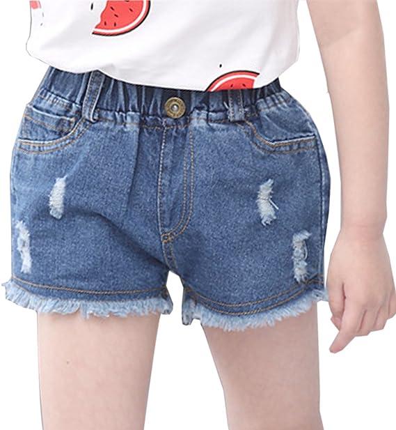 NAME IT Kinder Mädchen Jeansshorts Shorts Kurze Hose Sommershorts