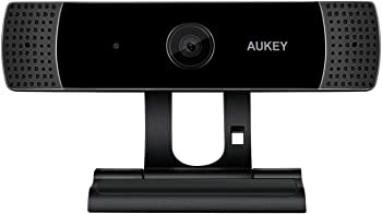 Aukey 1080p Live Streaming Camera with Stereo Microphone