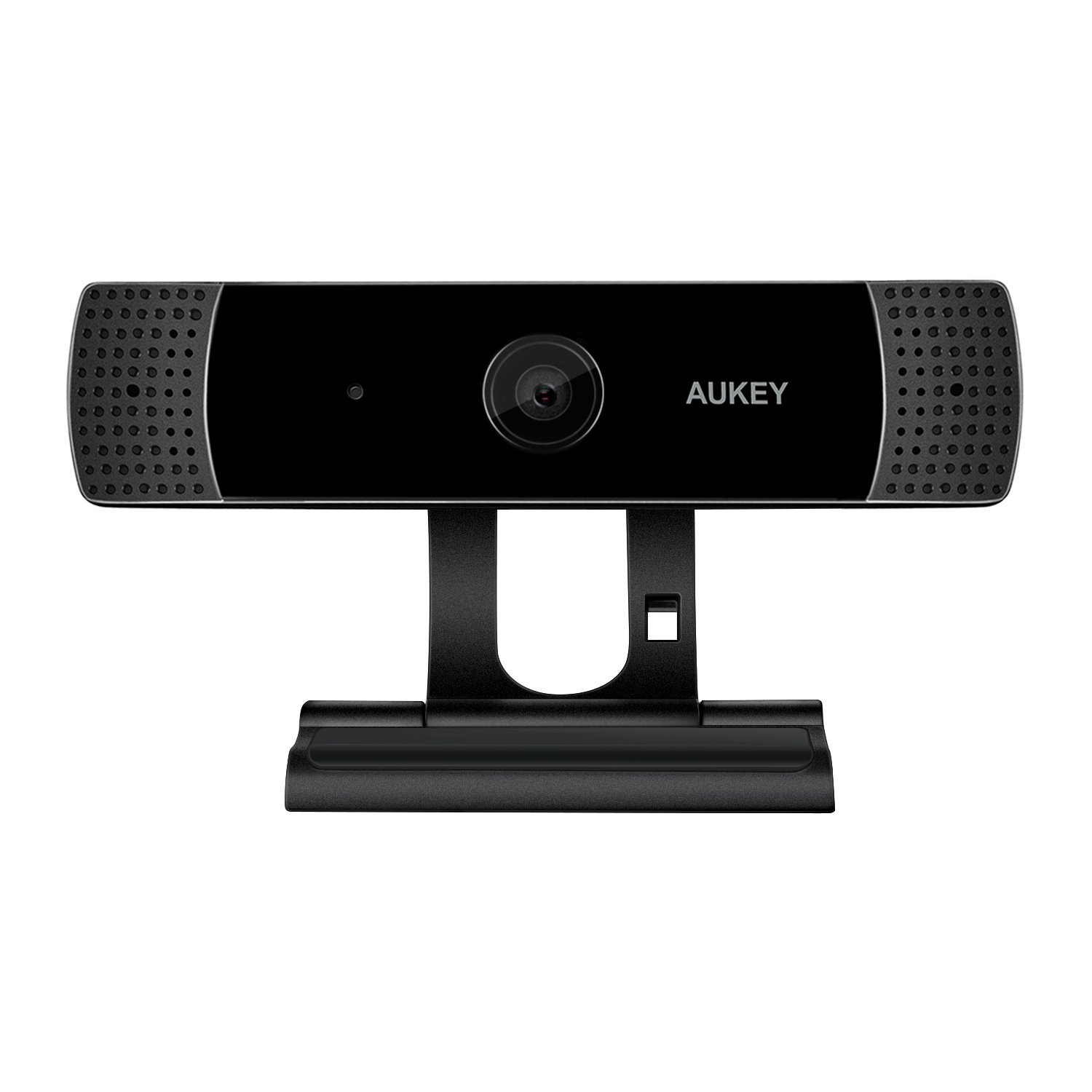 AUKEY FHD Webcam, 1080p Live Streaming Camera with Stereo Microphone, Desktop or Laptop USB Webcam for Widescreen Video Calling and Recording