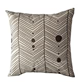 Decoration Festival Pillow Case Cushion Cover Pgojuni Waist Pillow Cover for Sofa/Couch 1pc 18'' 18'' (C)