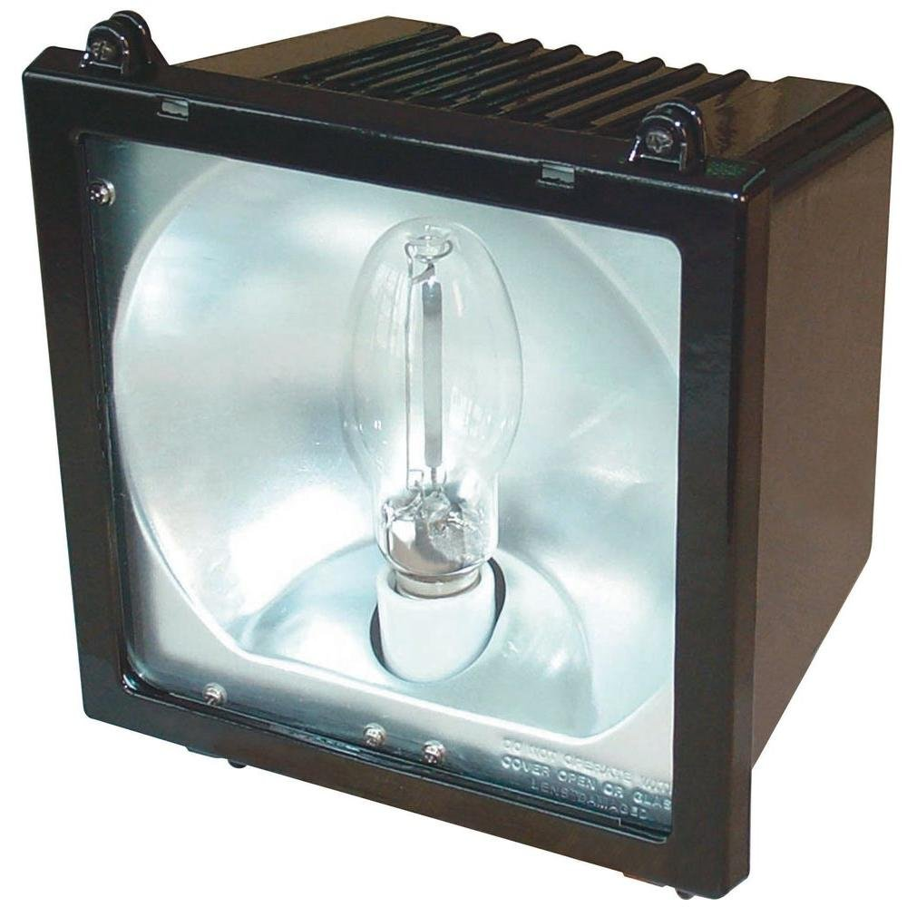 Lithonia Lighting F150MSL M4 1 Lamp 150W Metal Halide Flood Light, Bronze by Lithonia Lighting