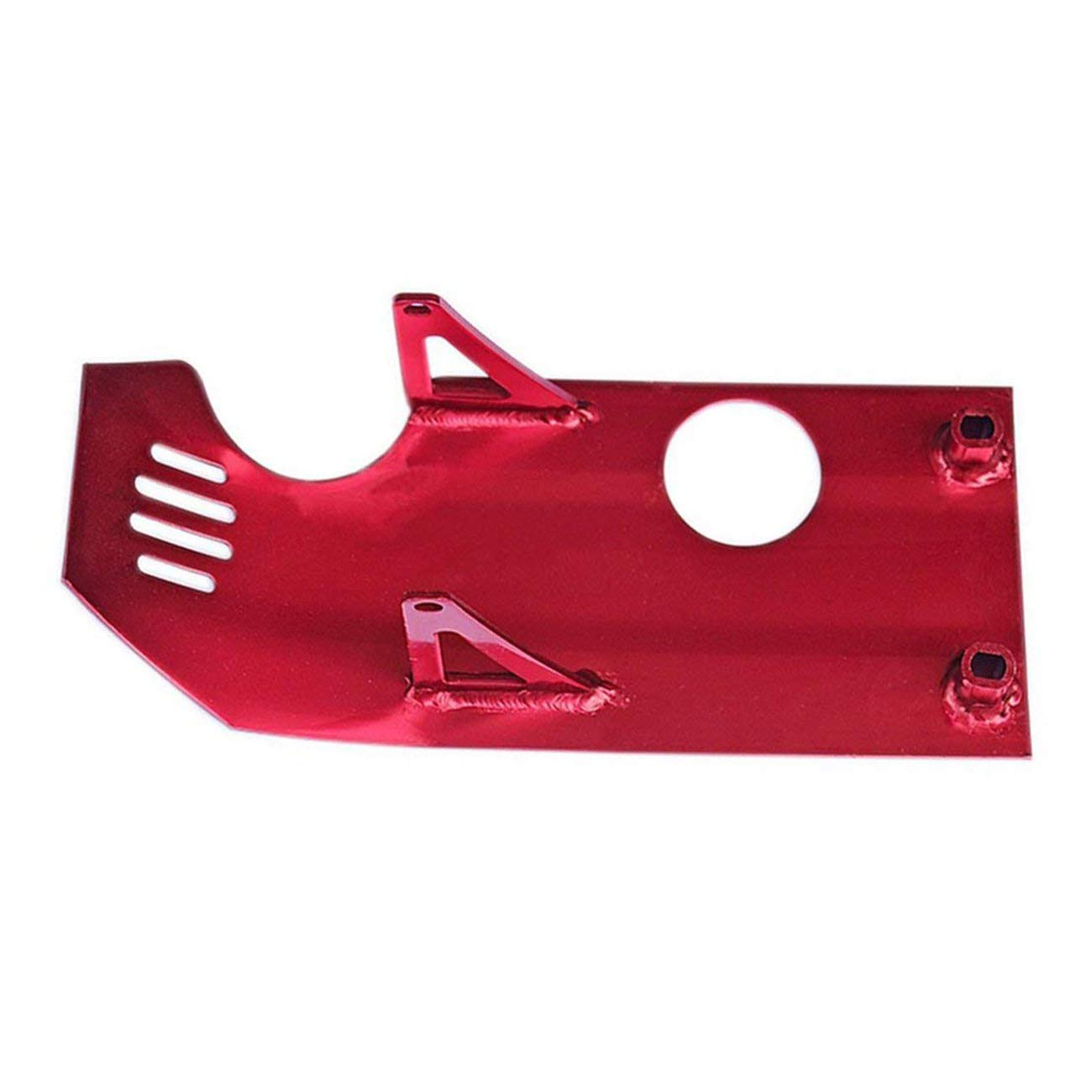 ZXTDR Skid Plate Guard Protector for Honda XR50 CRF50 XR 50 CRF SP07 Pit Dirt Bike 70cc 110cc 125cc (Red)