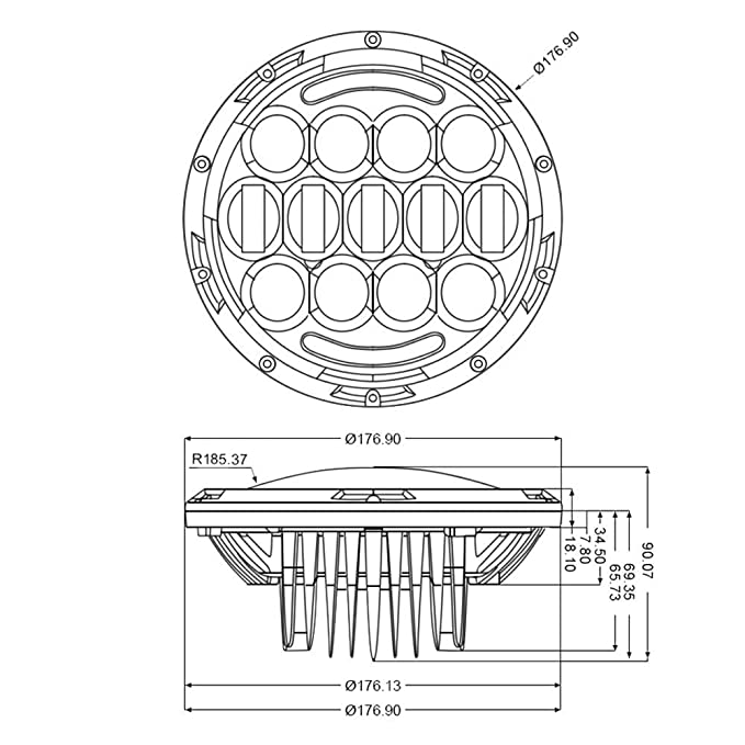 H4 Plug Diagram