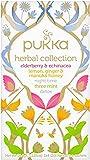 Pukka Herbal Collection, Selection of Five Organic Herbal Teas (4 Pack, 80 Tea bags)