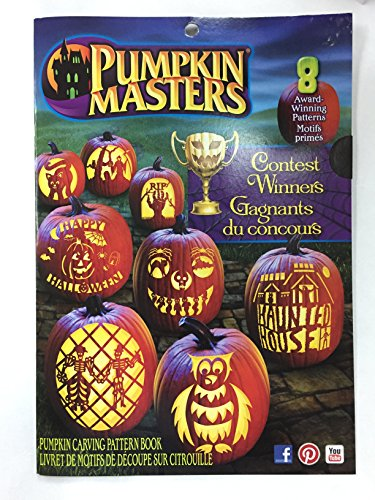 Pumpkin Masters Contest Winners Halloween Pumpkin Carving Pattern Book