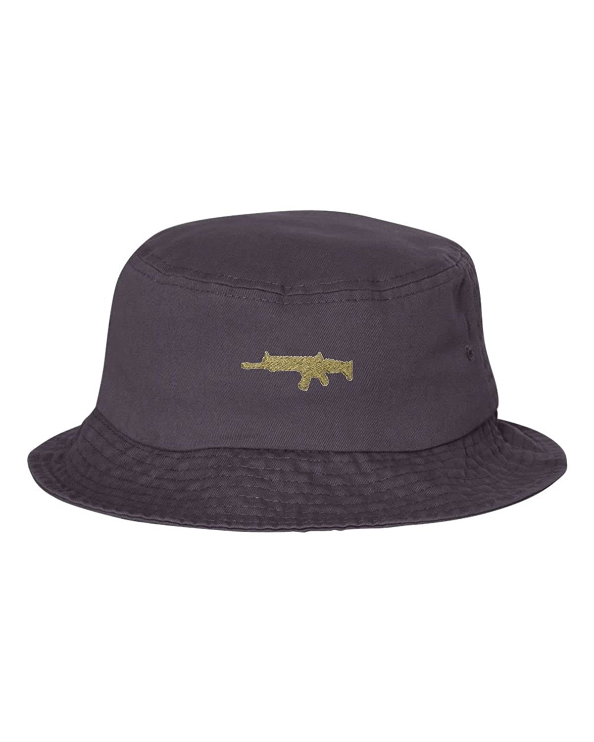 Adult Gold Scar Embroidered Bucket Cap Dad Hat
