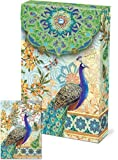 Punch Studio Pouch Note Cards- #57938 Royal Peacock by Punch Studio