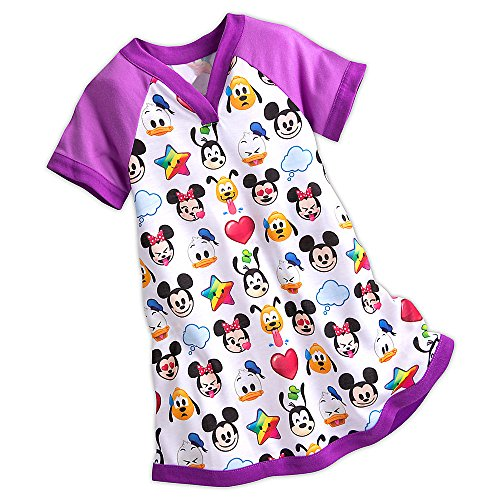 Disney World of Disney Emoji Nightshirt for Girls Size - Disney Stores World